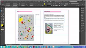 Modern Quilt Book sample layout