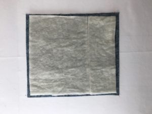 wall quilt basting
