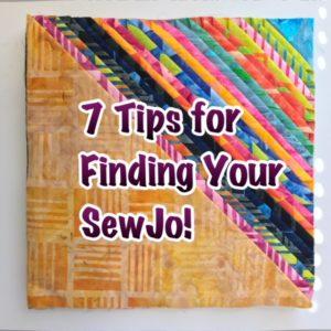 Finding your sewjo