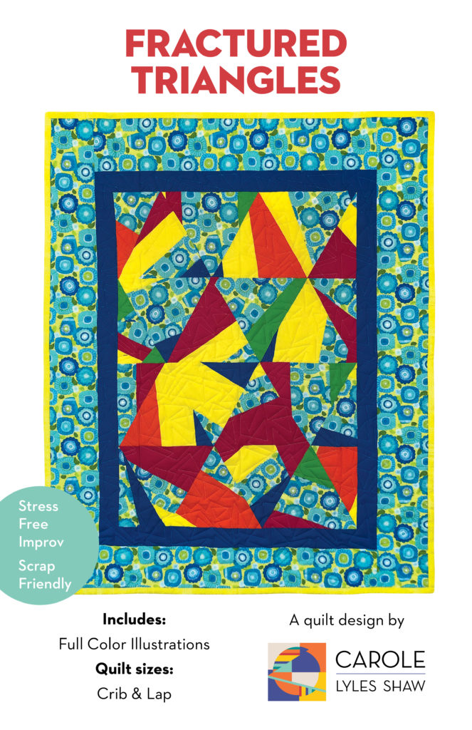 Fractured Triangles Print cover front
