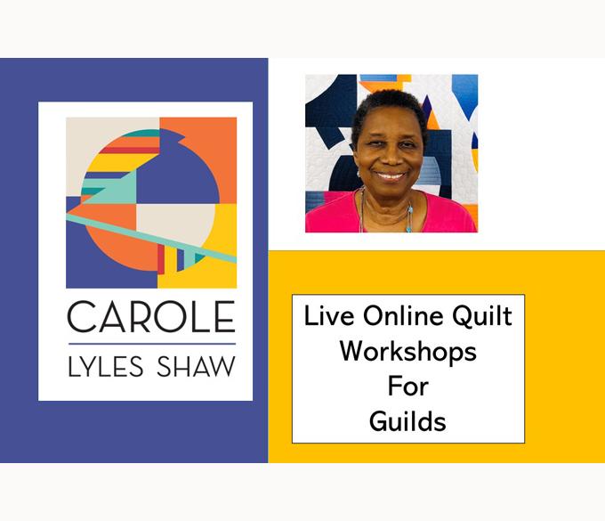 online quilt workshops
